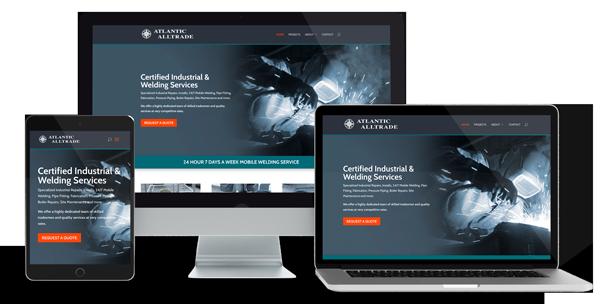 Altrade Atlantic Website Design by Glowbug Design