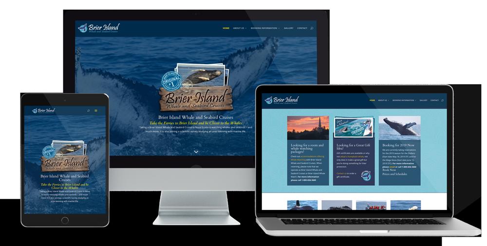 The Maven Gypsy B&B Cape Breton Website Design by Glowbug Design