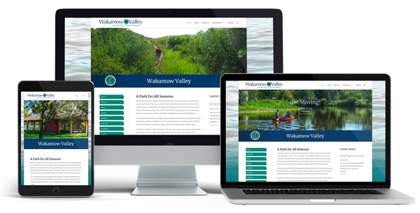 Wakamow Park Saskatchewan Web Design by Glowbug Design