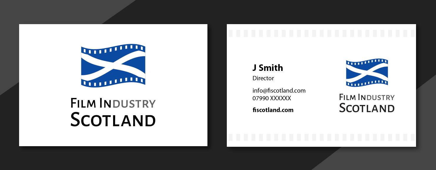 Film in Scotland Branding logo by Glowbug Design