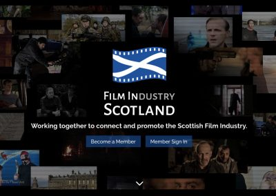 Film In Scotland Branding