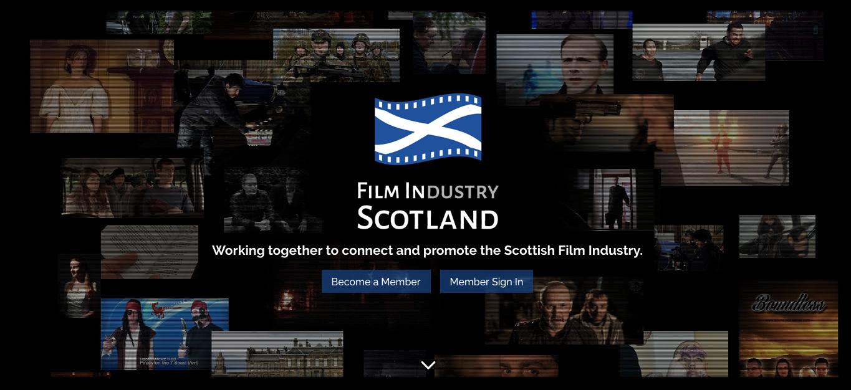 FIlm in Scotland Brandind and website