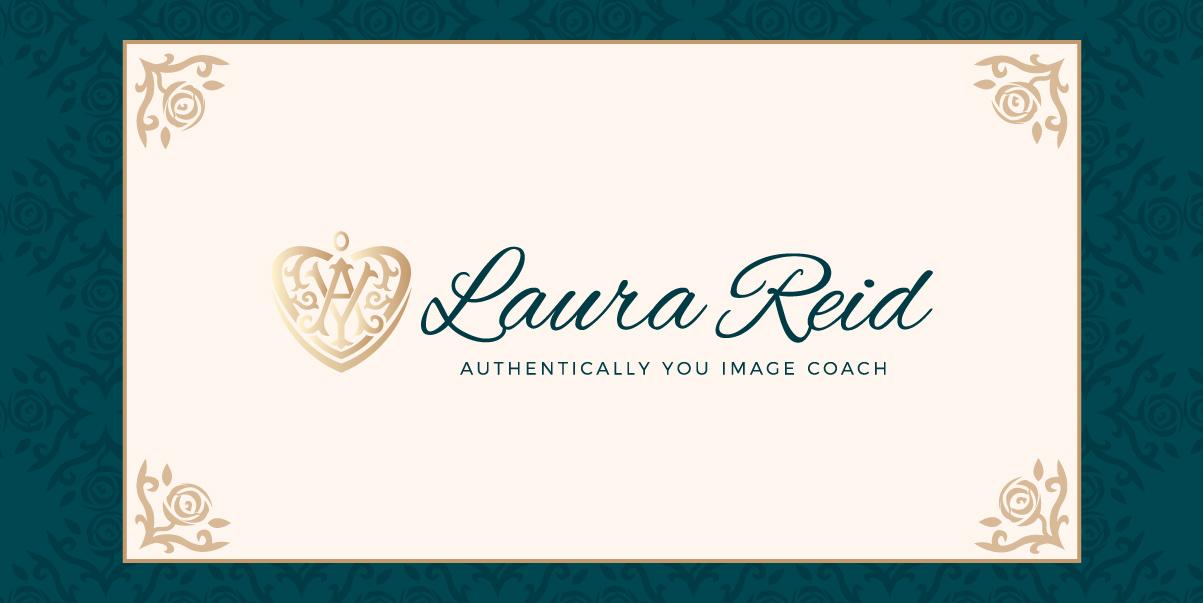 Laura Reid Branding logo by Glowbug Design