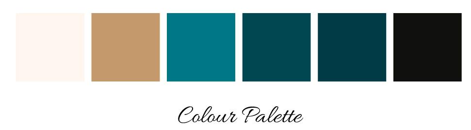 Branding Colour Palette for Laura Reid