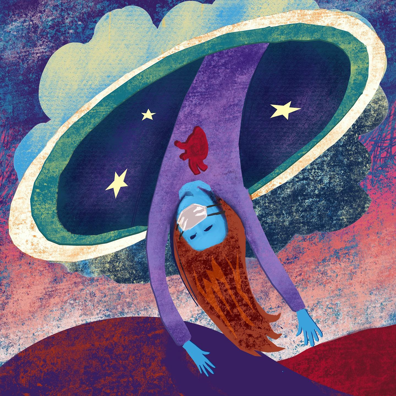 Toenails Book Cover illustration