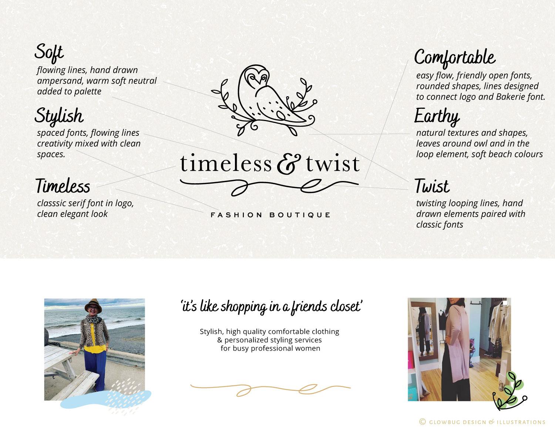 Timeless & Twist Branding