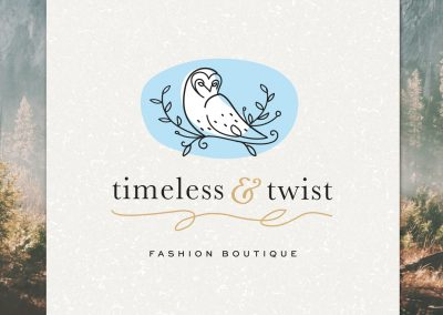 Timeless and Twist Branding