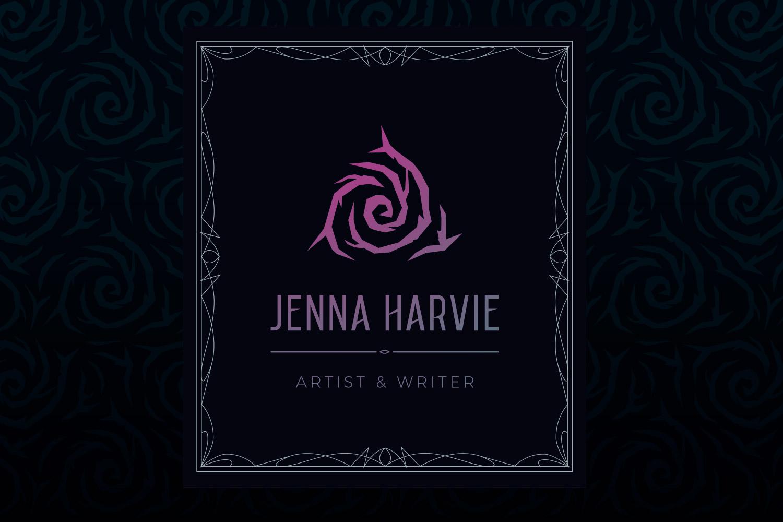 Jenna Harvie Artist and Writer Brand case study