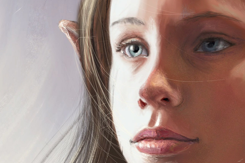 Digital art by Rebecca Hill