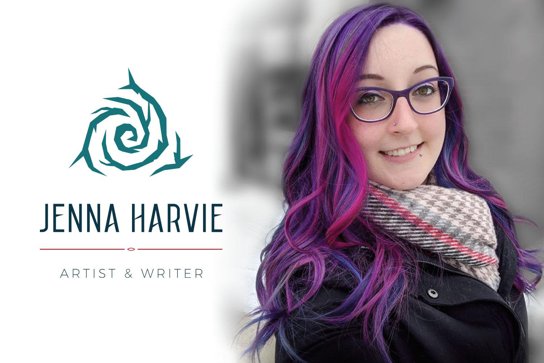 Creative Artist Logo & Brand Jenna Harvie
